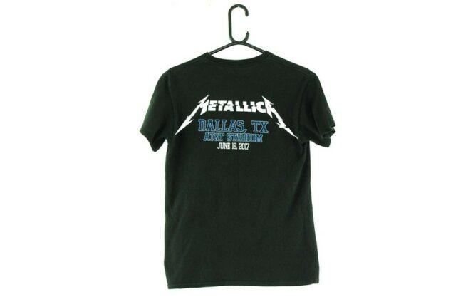 Back of Metallica Black Tee