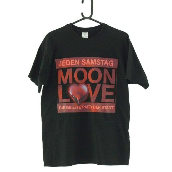 Moon Love Black Tee