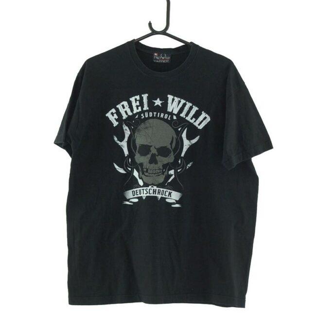 Frei Wild Skull Black Tee
