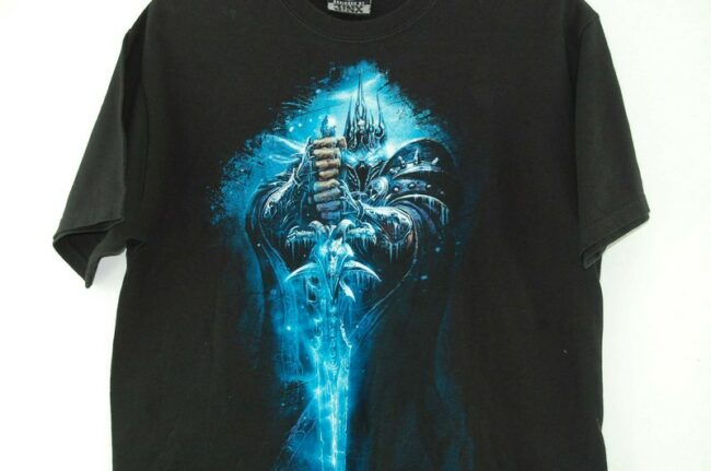 Close up of Blizzard Black Tee