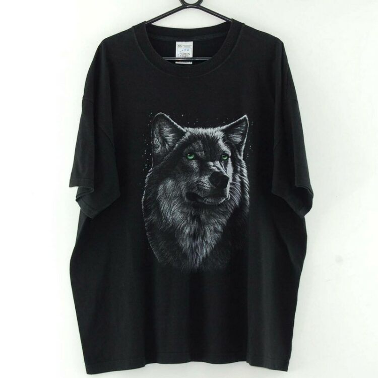 Wolf Black Tee
