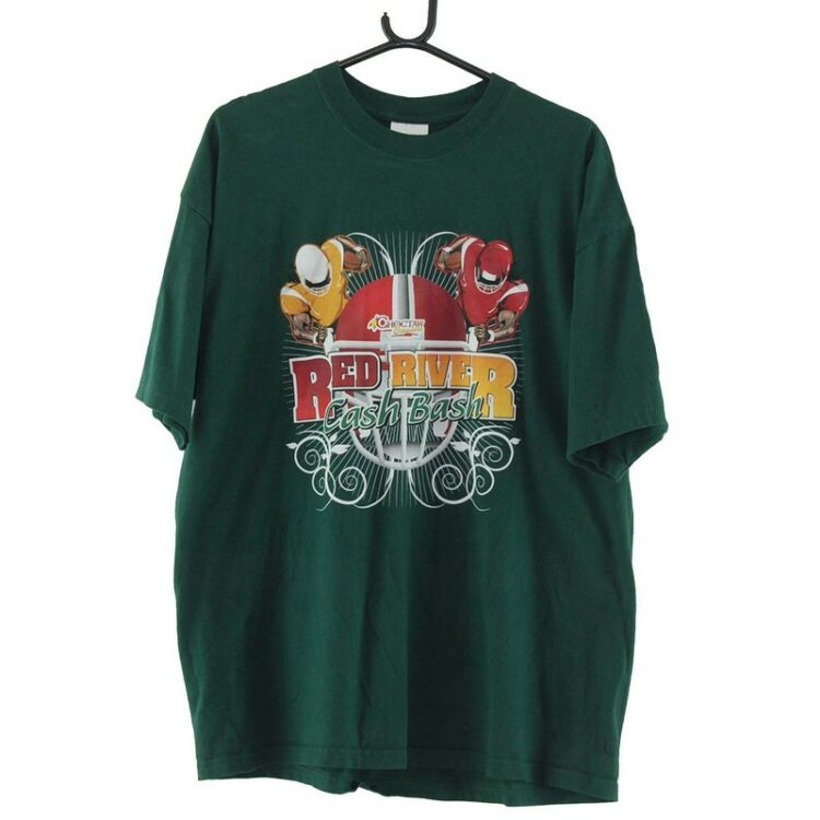 Red River Cash Bash Green Tee