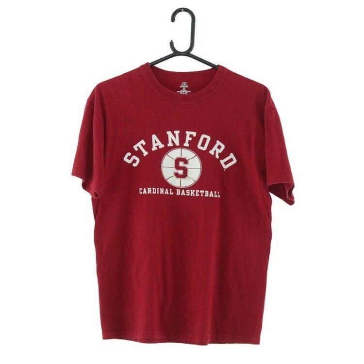 Stanford Basketball Burgundy Tee