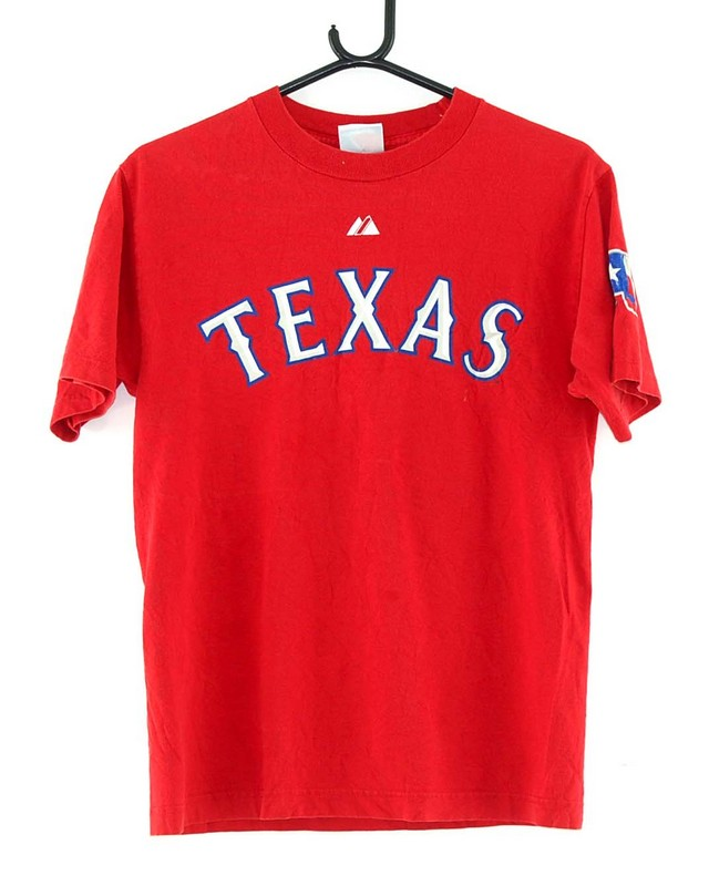 Texas Rangers Baseball Cruz 17 Red Tee