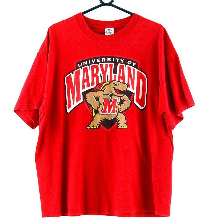 University of Maryland Red Tee