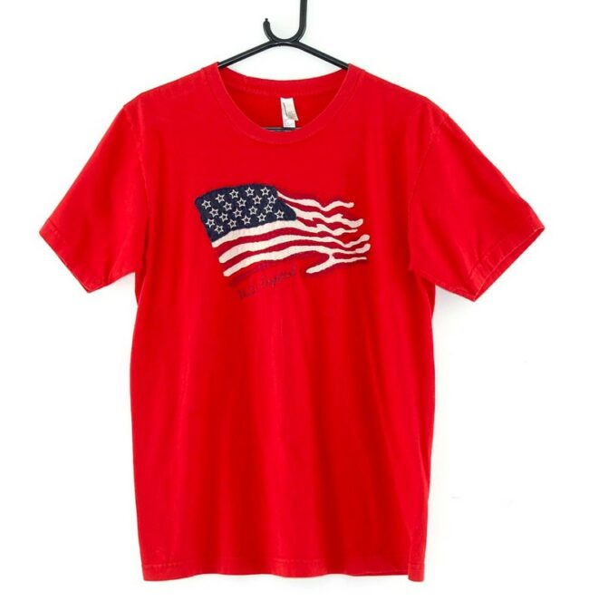 American Apparel Red Flag Tee