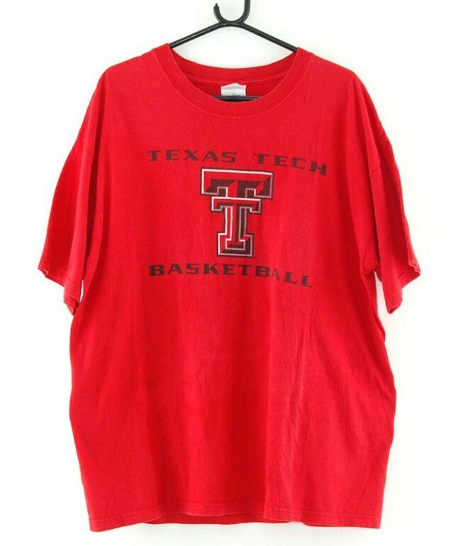 Texas Tech Basketball Tee