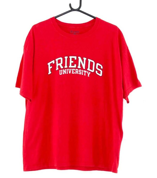 Friends University Red Tee
