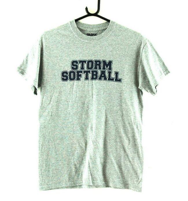 Storm Softball Grey Tee
