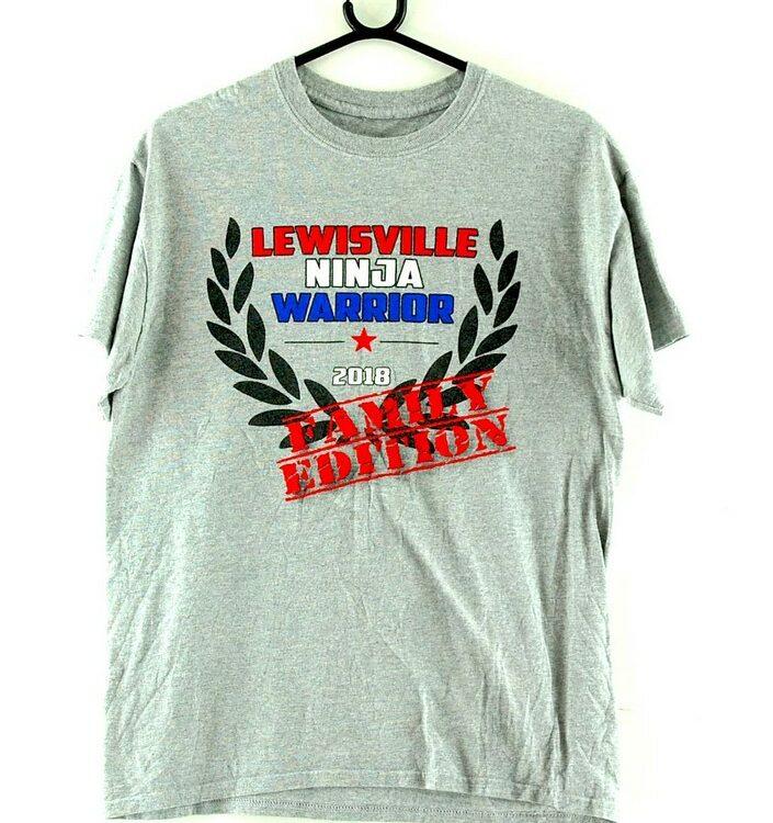 Lewisville Ninja Warrior Grey Tee