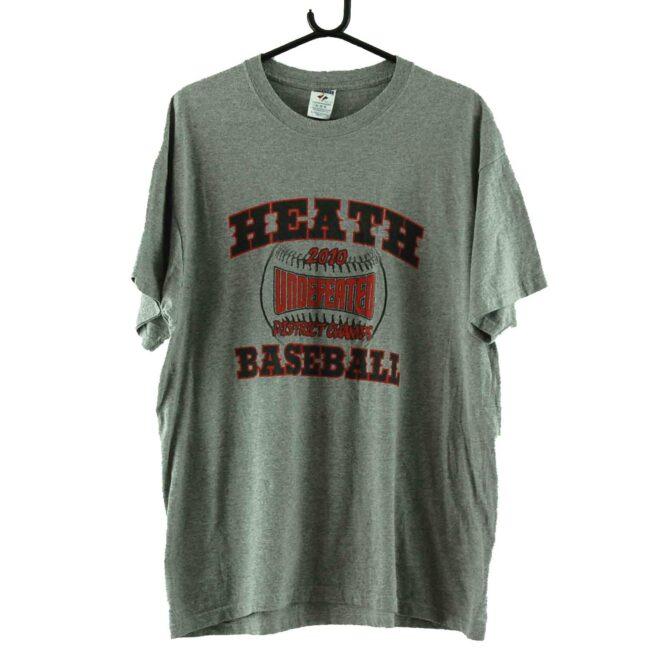 Heath Baseball 2010 Grey Tee