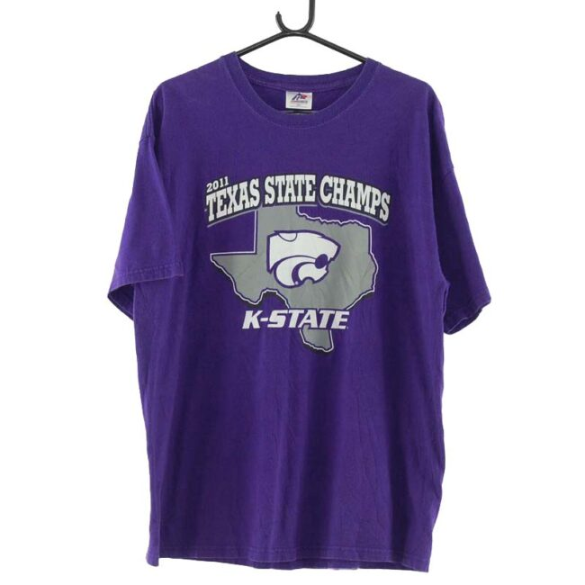 2011 Texas State Champs Purple Tee