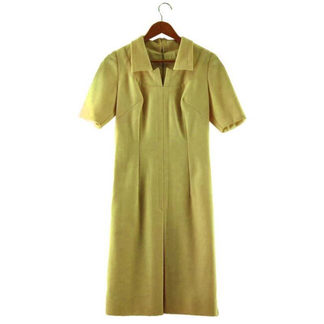 1960s Cream Tunic Dress