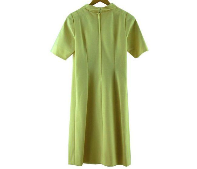 Back of 1960s Cream Tunic Dress