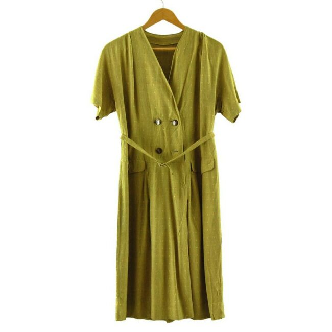 1960s Wrap Over Dress