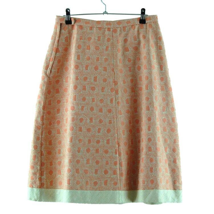 60s Pink Vintage Midi Skirt