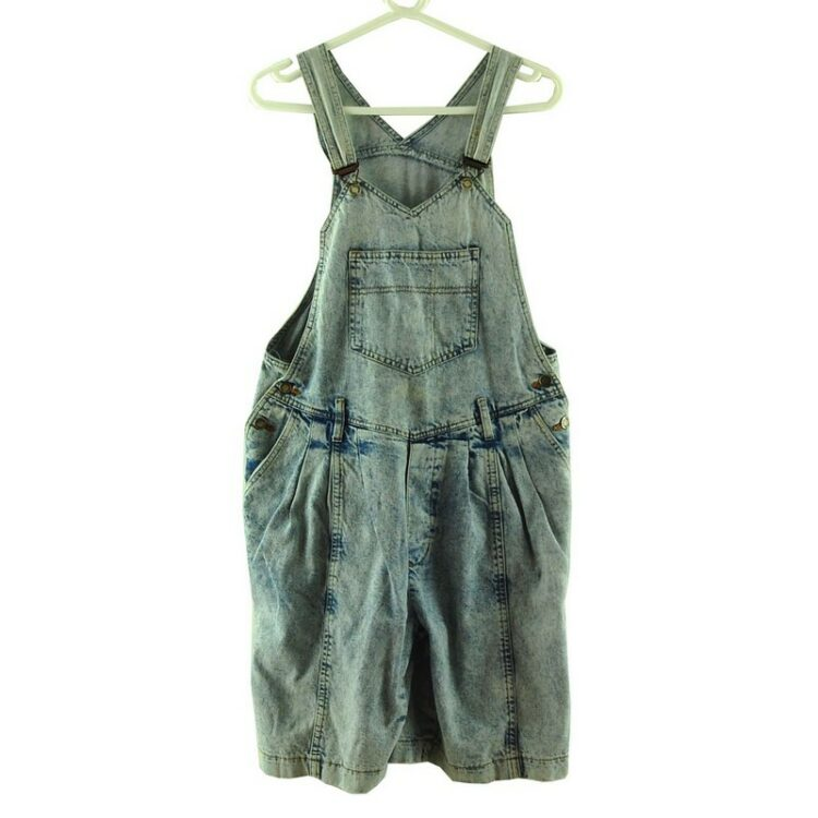 Cropped Jean Dungarees