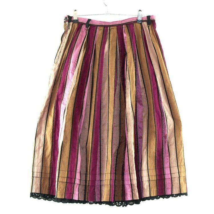 Multicoloured Dirndl Skirt