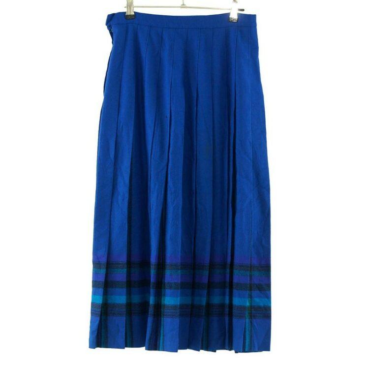 Pleated Wool Vintage Pendleton Skirt